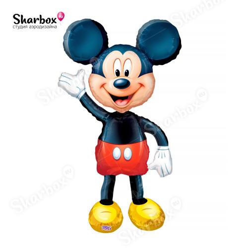 Ходячий шар фигура Микки Маус ходячка