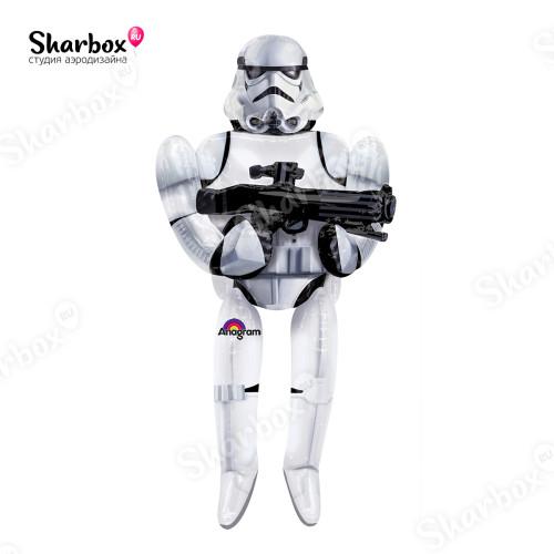 Ходячий шар фигура Звездные войны Штурмовик ходячка