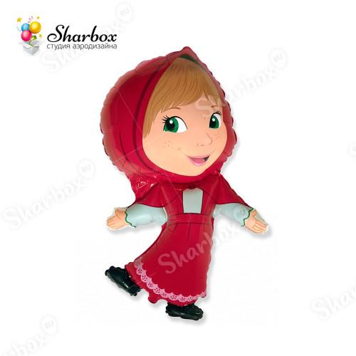 Воздушный шар Красная шапочка с гелием