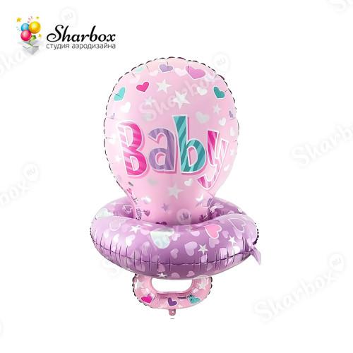 Воздушный шар Соска для девочки с гелием
