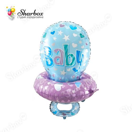 Воздушный шар Соска для мальчика с гелием