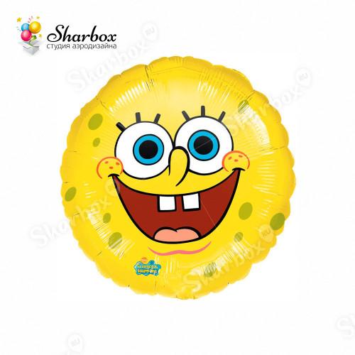 Воздушный шар Спанч Боб Улыбка с гелием
