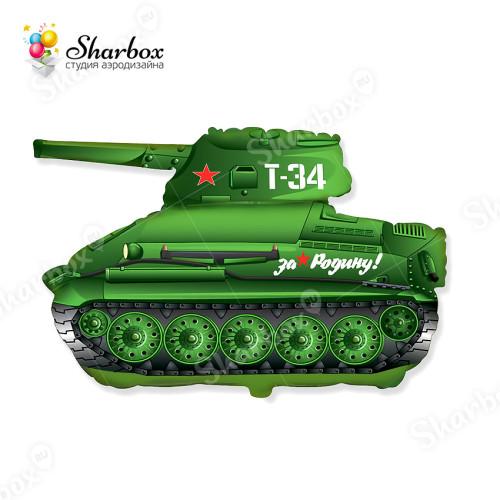 Воздушный шар Танк Т-34 с гелием