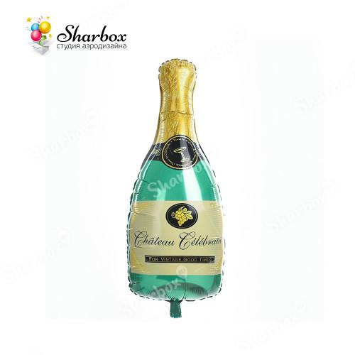 Воздушный шар Бутылка шампанского с гелием