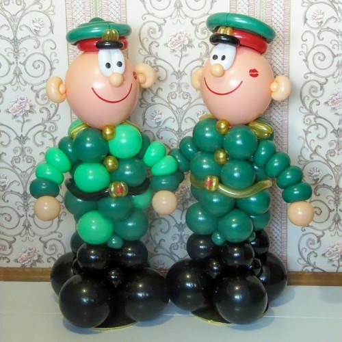 Солдатики из шаров №1 в Тюмени