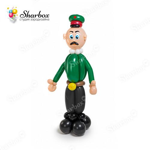 Фигура Военный из шаров