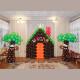Оформление шарами Волшебный лес в детском саду Тюмень