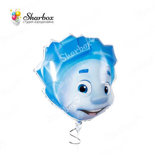 Воздушный шар Фиксики Нолик с гелием