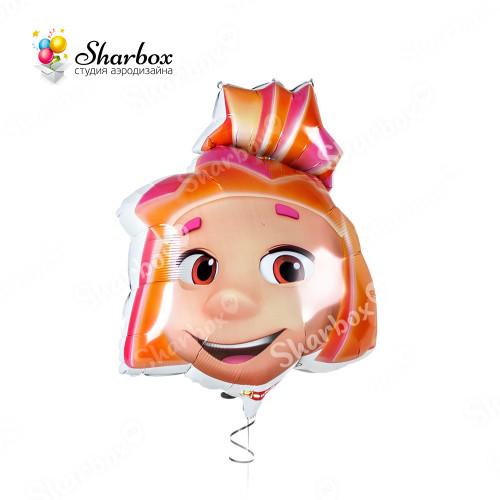 Воздушный шар Фиксики Симка с гелием
