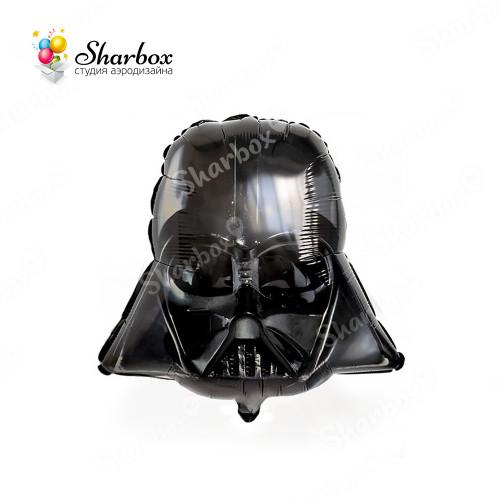 Воздушный шар Звездные Войны Шлем Вейдера с гелием