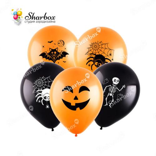 Шар Хэллоуин (4 дизайна), Ассорти
