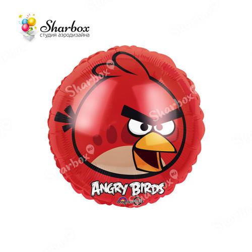 Шар Круг Angry Birds Красная