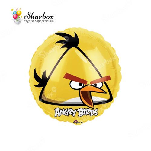 Шар Круг Angry Birds Жёлтая