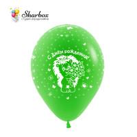 Шары Детский День Рождения Green