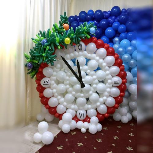Новогодние часы, вариант №2