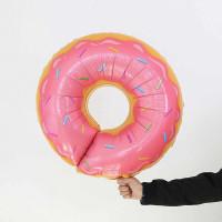 Гелиевый Шар Фигура Пончик Розовый, фото 1