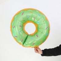 Гелиевый Шар Фигура Пончик зеленый, фото 1