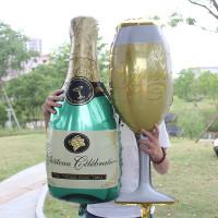 Гелиевый Шар фигура Бокал шампанского, фото 01