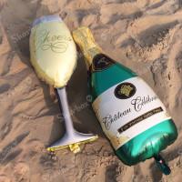 Гелиевый Шар фигура Бокал шампанского, фото 03