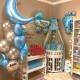 Оформление шариками комнаты малыша сет №01