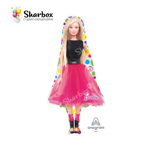 Шар фигура Барби с гелием