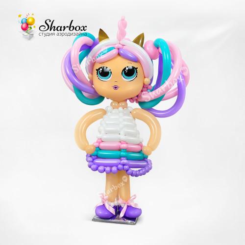 Фигура из шаров Модная кукла