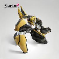 Ходячая фигура Бамблби Трансформеры 01