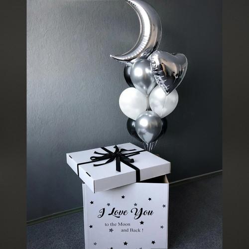 Коробка с шарами Dark Moon
