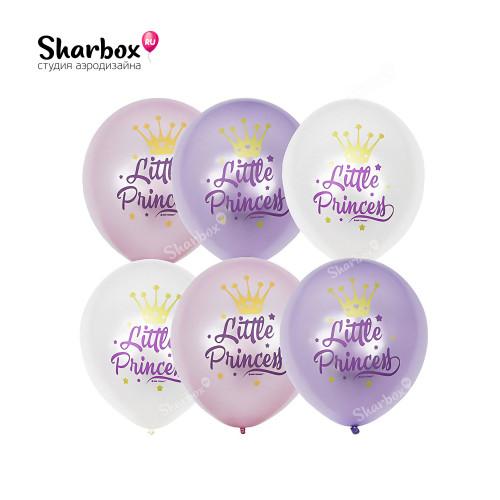 Воздушные шары Маленькая принцесса с гелием
