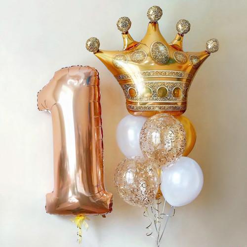 Сет шаров Золотая Корона