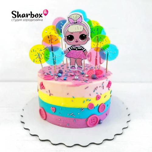 Тортик Модная кукла