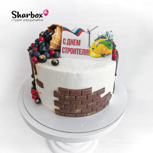 Торт С Днём строителя