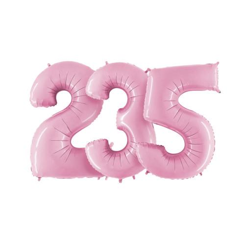 Цифры Пастель Розовые