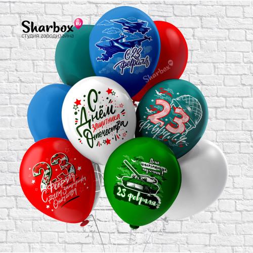 100-137 Воздушные шары 23 Февраля
