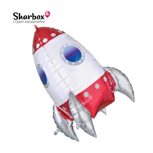 203-037 Шар фигура Ракета 3D (Anagram)