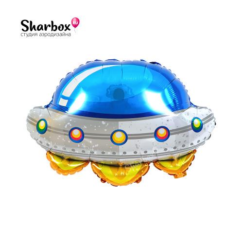 210-051 Шар фигура Космический корабль НЛО