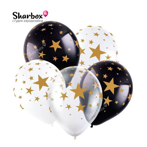 100-155 Воздушные шары Звёзды