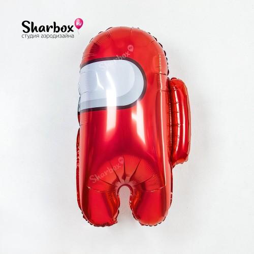 Шар Фигура Космонавтик Красный