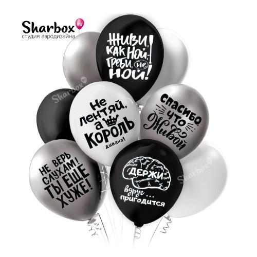 Воздушные шары Оскорбления «Не ной!»